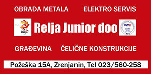 relja junior zrenjanin