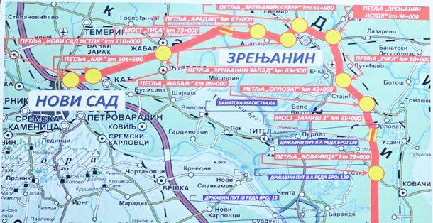 Sprema Se Dokumentacija Za Auto Put Beograd Zrenjanin Novi Sad